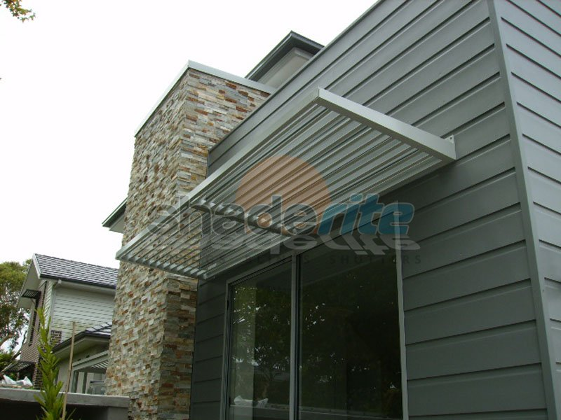 aluminium louvres awnings and canopies sydney north shore