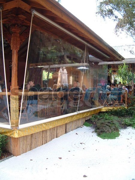Clear Pvc Awnings Amp Caf 233 Blinds Sydney North Shore